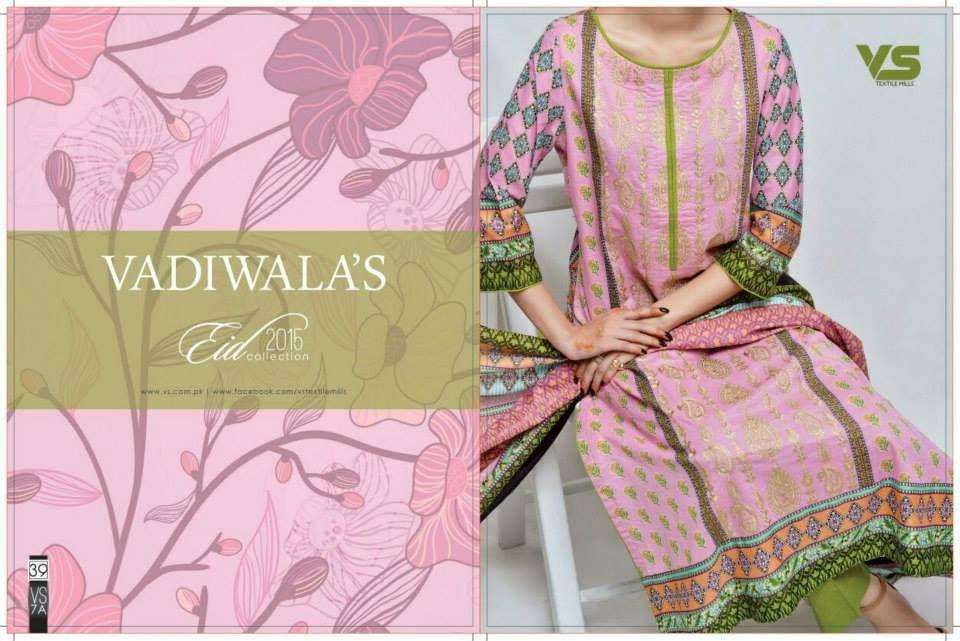VS Textile Mills Summer Eid Beautiful Dresses 2015 Vol-9 (1)