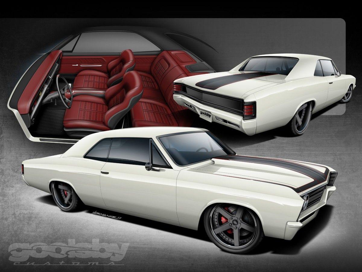 M&M Hot Rod Interiors 1967 Chevelle Custom