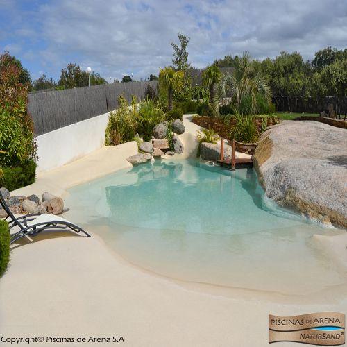 Piscinas de arena natursand piscinas y jardines for Diseno y construccion de piscinas en colombia