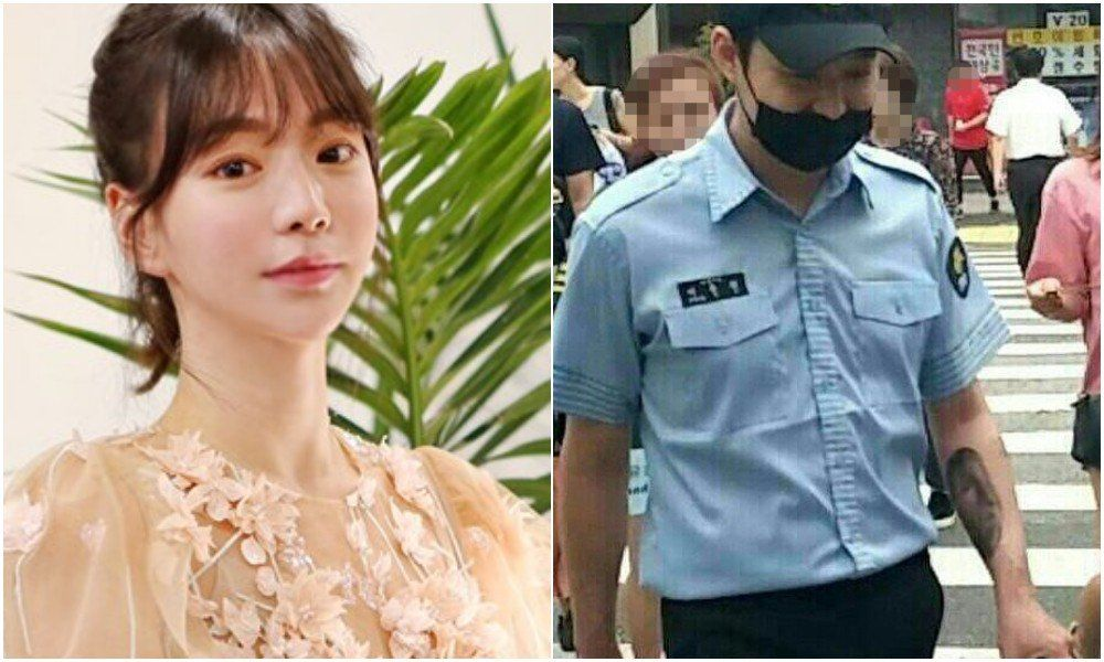 Yoochun reportedly removed the tattoo of Hwang Hana's face on his