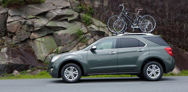 2013 Chevrolet Equinox Ltz In Steel Green Metallic Shown With