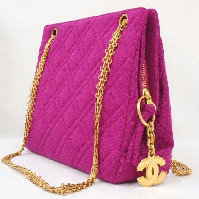 cc338cb021c Chanel Bags - Nina Furfur Vintage Boutique | Bag | Pink chanel bag ...