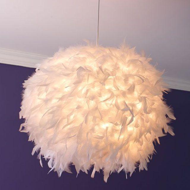 lampe avec plume recherche google inspirations d co. Black Bedroom Furniture Sets. Home Design Ideas