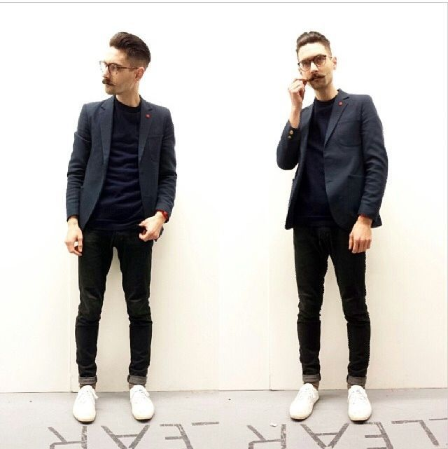 Suit With White Sneakers Google Search His Style Suits