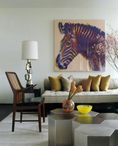 room - Zebra Decor For Living Room