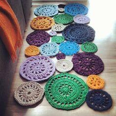 alfombra trapillo multicolor - Buscar con Google