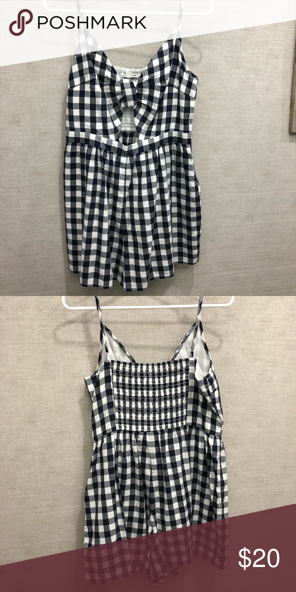 a8290a4fd90e Romper black gingham romper from American Eagle - never been worn American  Eagle Outfitters Other