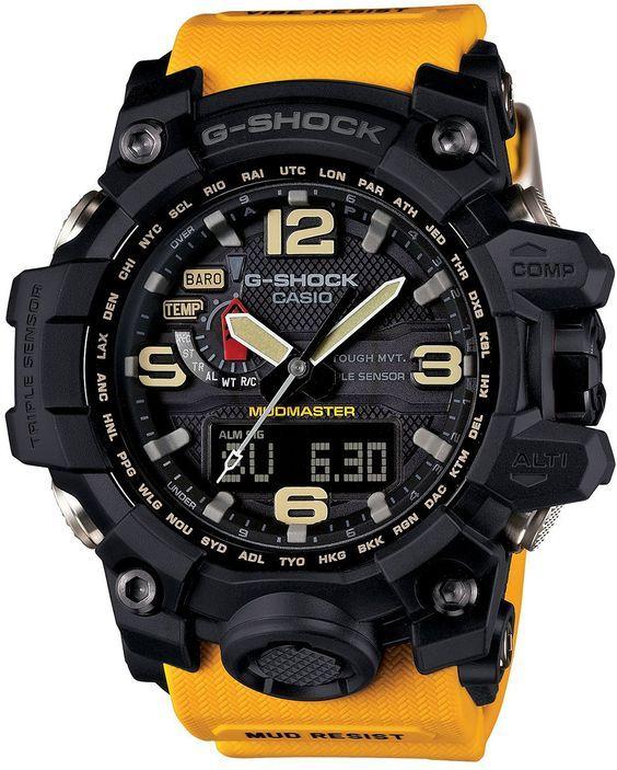 9863fec63 Casio G-Shock Mudmaster: | Action Gear | Reloj casio, Reloj táctico ...