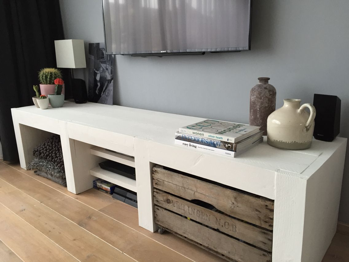 Hoekmeubel Tv ~ Steigerhout tv meubel interieur tvs tv stands