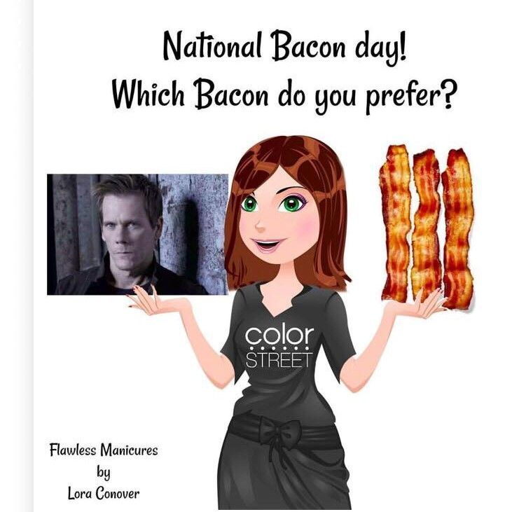 National Bacon day, Kevin bacon National bacon day