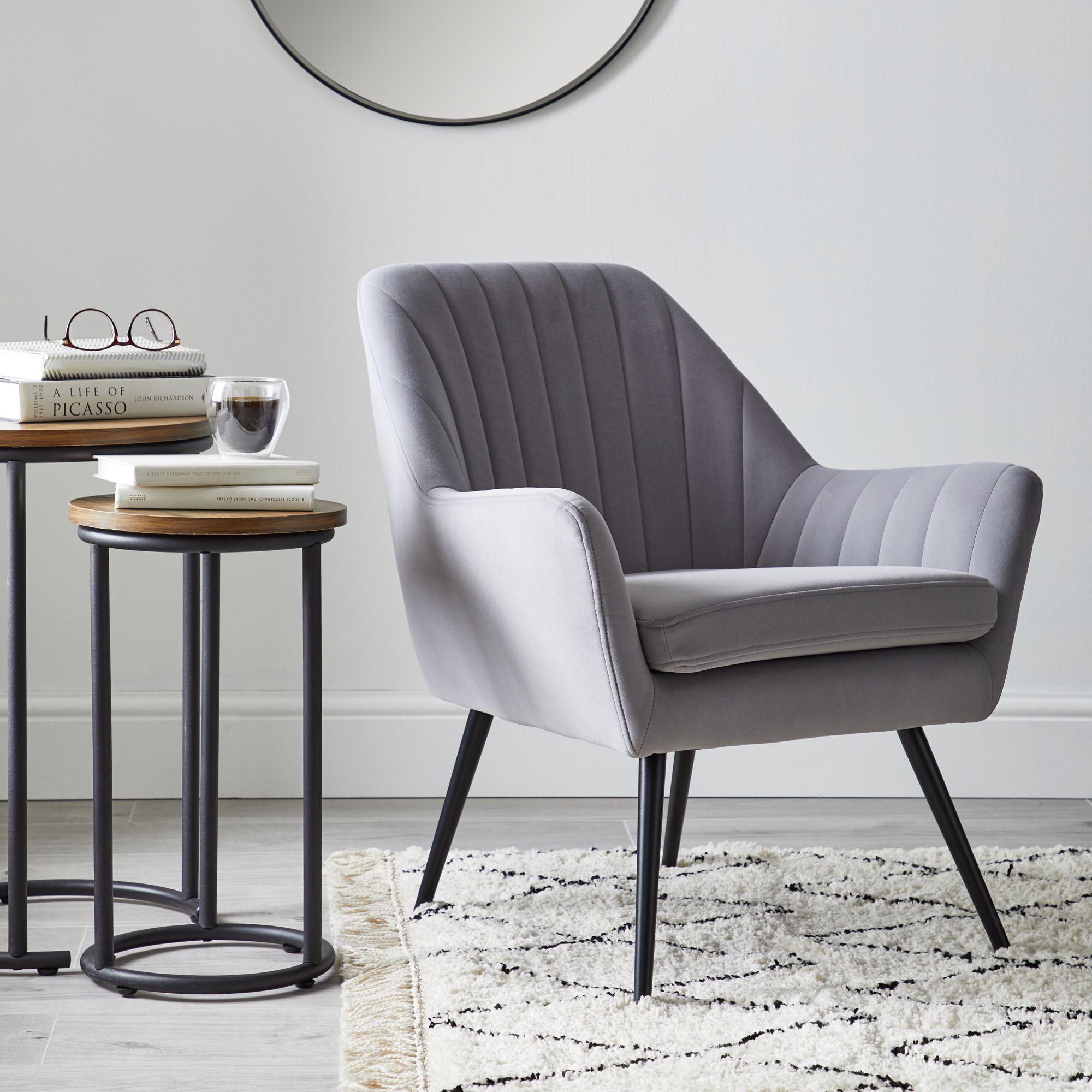 Chair, Velvet Furniture, Seating