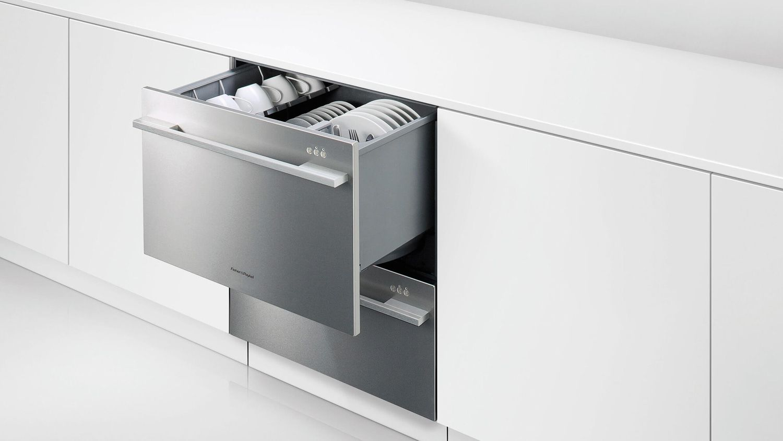 Fisher paykel dishwasher drawers vs standard dishwashers