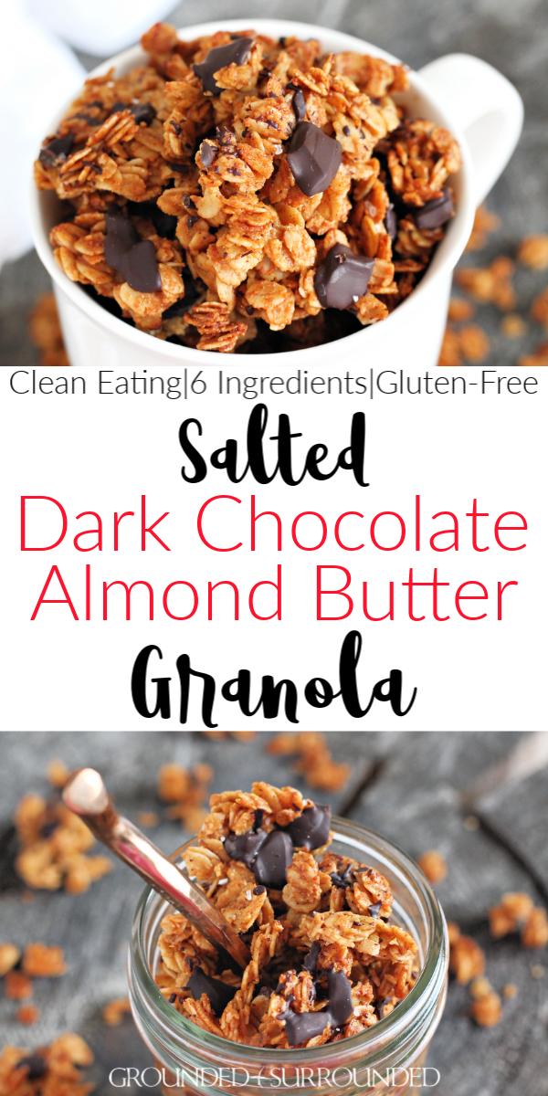 Photo of Salted Dark Chocolate Granola