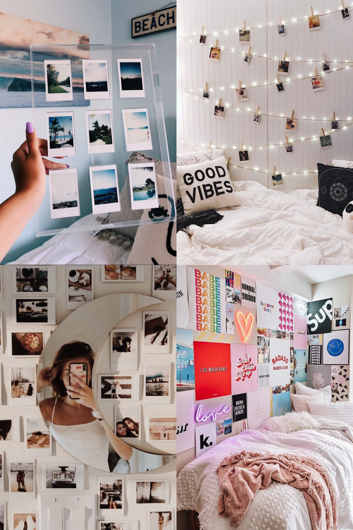 10 Photo Wall Collage Ideas For Your Bedroom Its Claudia G Room Ideas Bedroom Cute Bedroom Decor Shelf Decor Bedroom