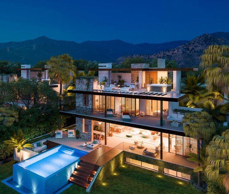 Modern And Exclusive Villas In Benahavis Marbella In Marbella Spain For Sale 10767824 Marbella Villas Marbella Property Luxury Villa