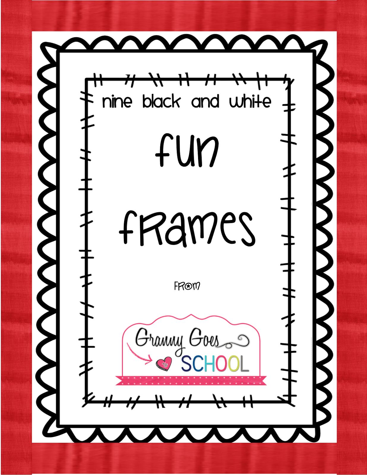 FREE Fun Frames - clipart mini set | Clip Art Craze | Pinterest ...