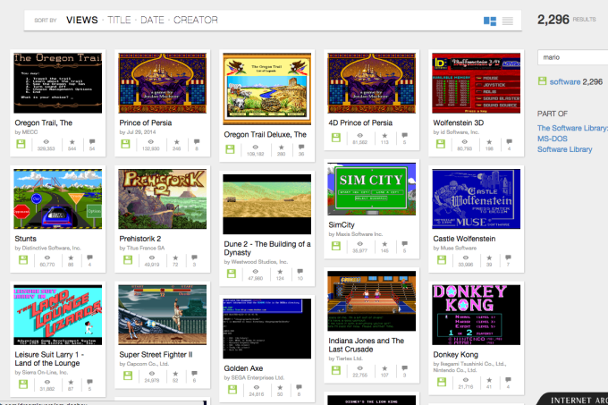 Archive Brings Oregon Trail, Prince Of Persia