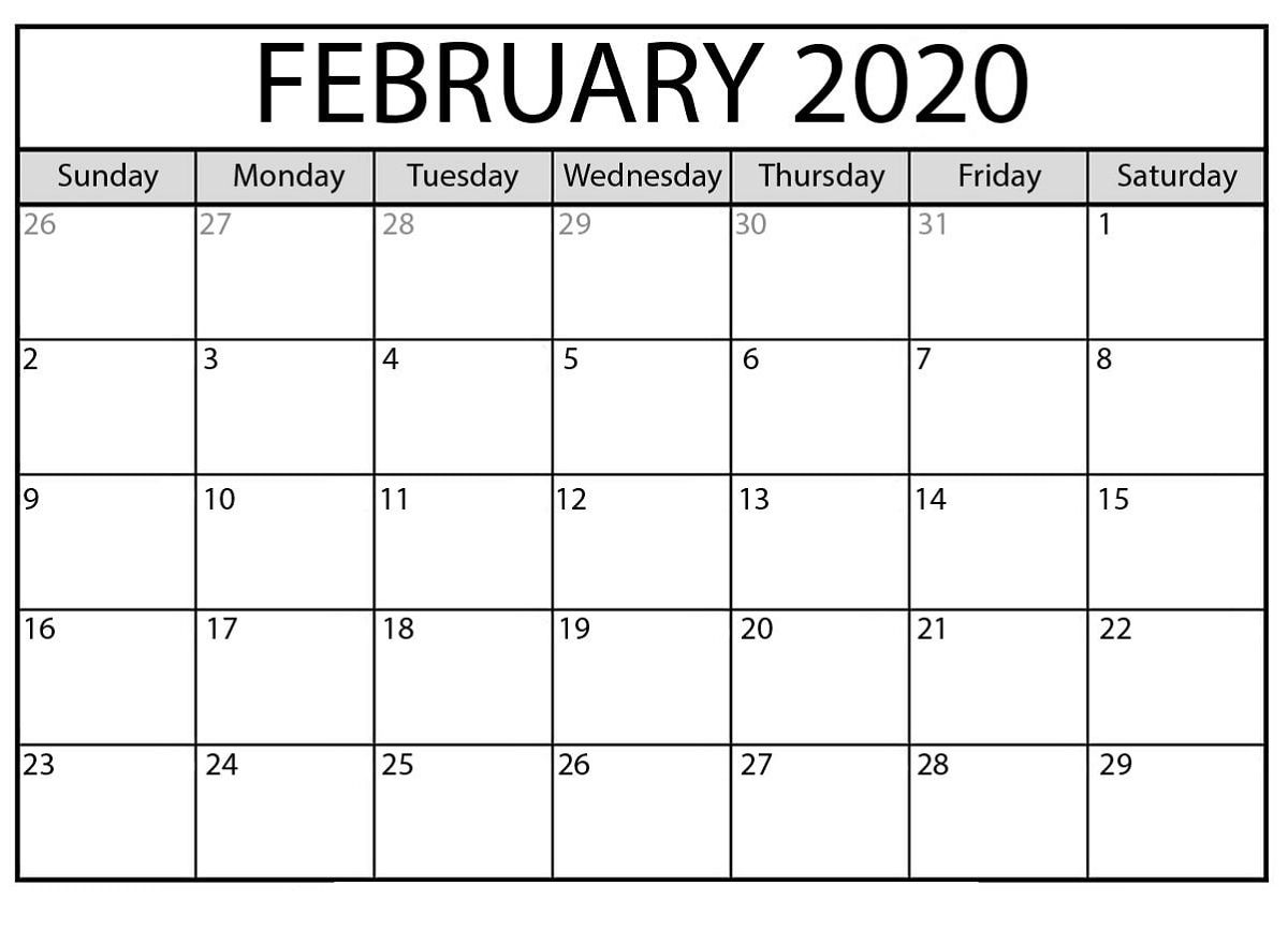 Free Printable Calendar Templates 2020 For Kids In Home ...