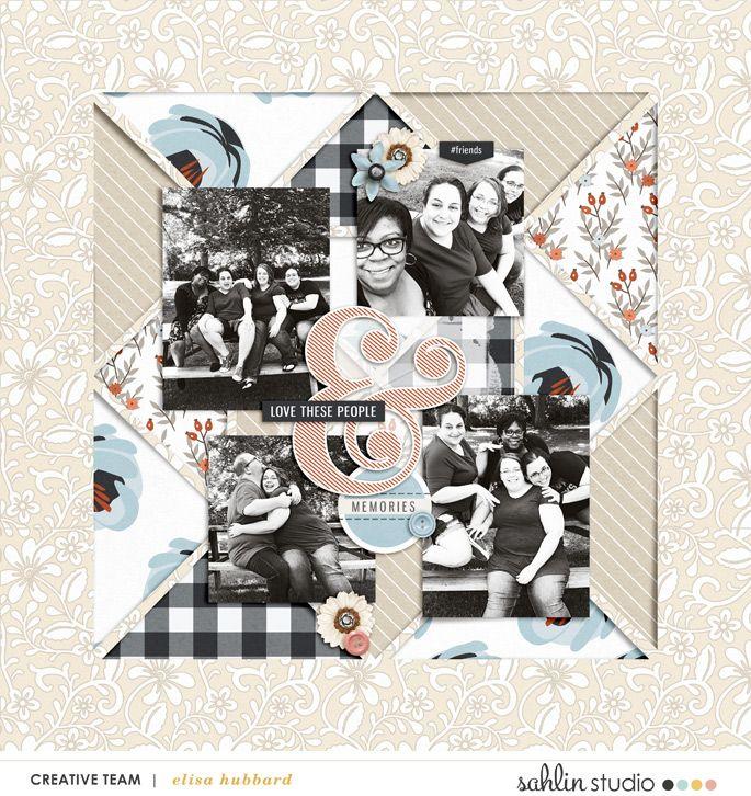 Gather – Scrapbook Kit and Journal Cards   Sahlin