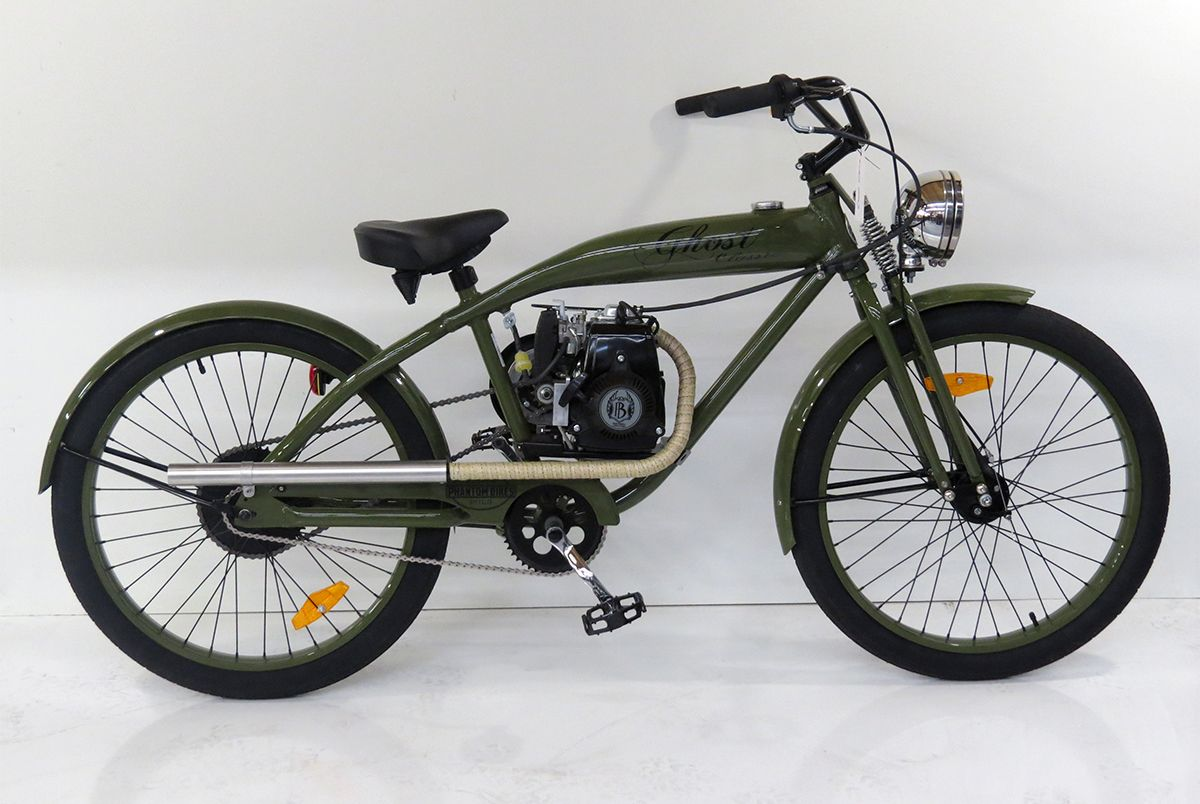 The Harley Davidson Motorized Bicycle Replica Turned Out Very Nice