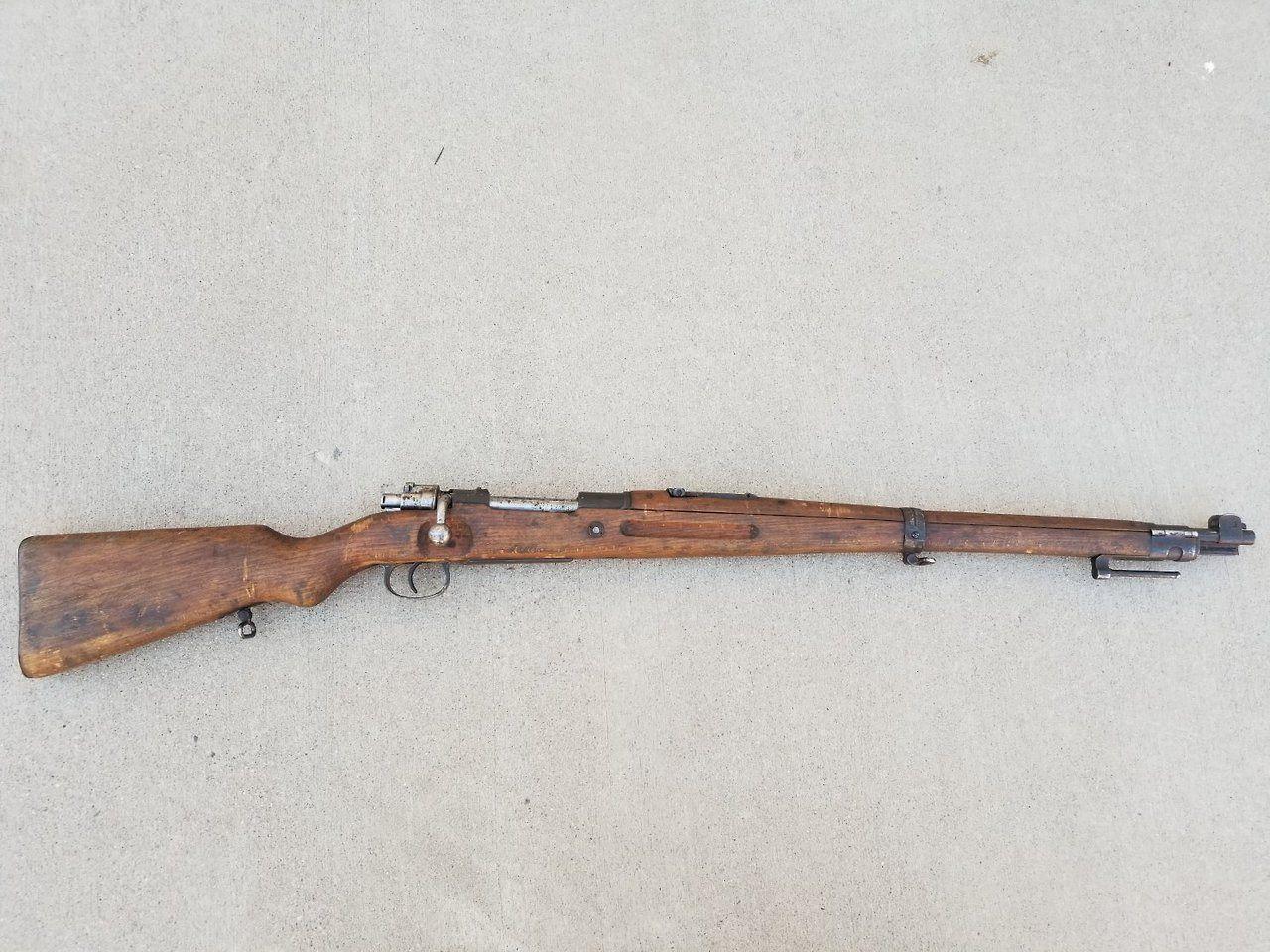 TipsyLathes — gunrunnerhell: Kar98a A Polish Mauser that is