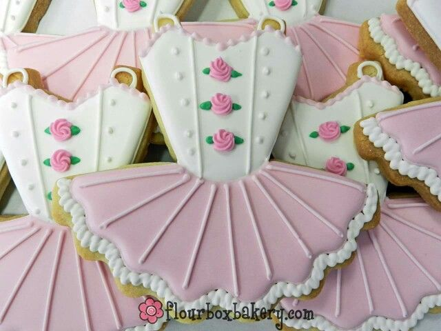 Ballet Tutu Cookie