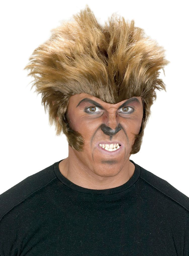 Add this Big Bad Wolfman Wig to your Wolfman Costume for a more beastly look! Be sure to get a wig cap to control hair under the wig.  sc 1 st  Pinterest & Big Bad Wolfman Wig$16.49 | Costumes | Pinterest