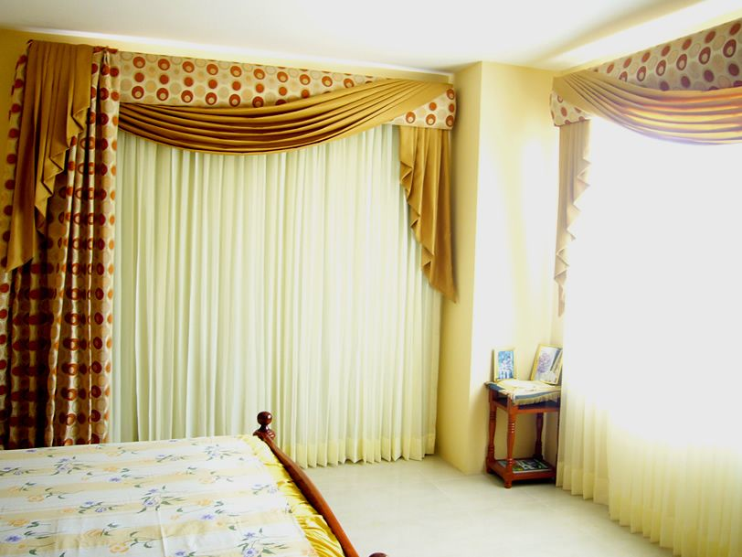 Cortinas Para El Hogar Ideas Para Hacer Cenefas Decorativas Y De Curtain Designs Curtain Designs For Bedroom Curtains