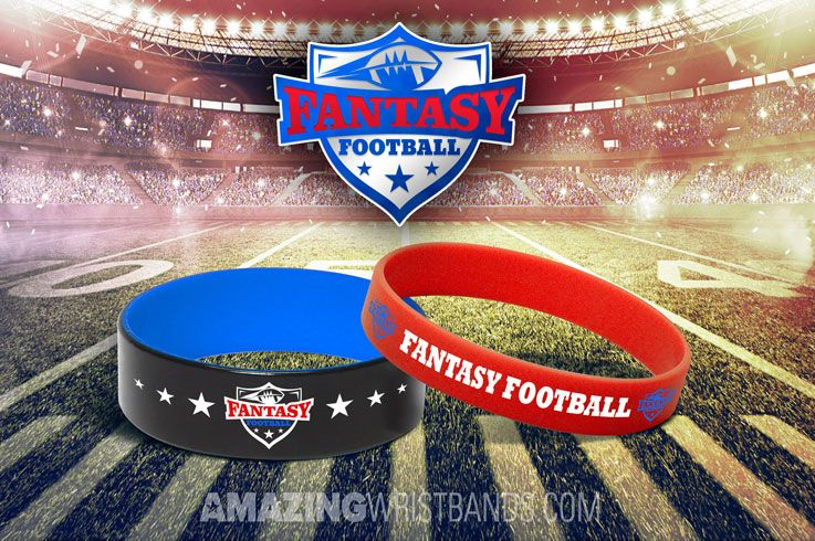 How To Support Fantasy Football Team With Customized Wristbands