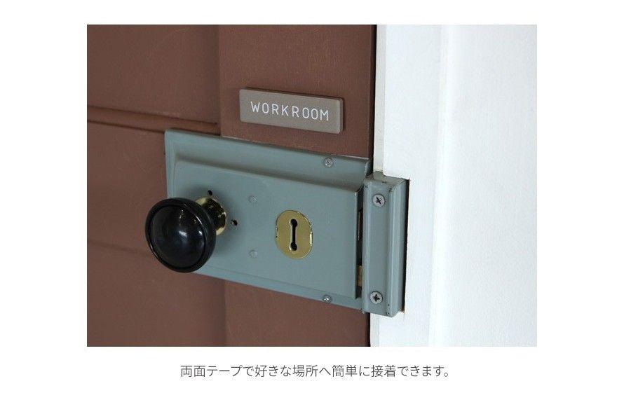 ドアプレート ドアサイン セラミック ミニタイプ 部屋表札 ルーム