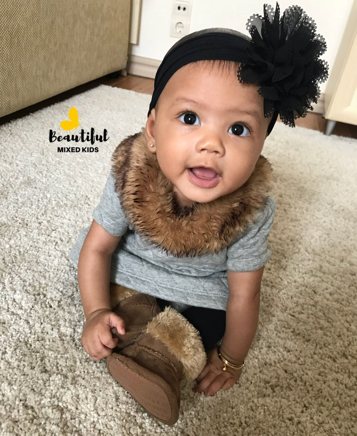 African American Chinese Baby