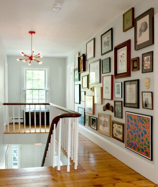 Why you should be afraid of eclectic gallery art walls for Lots of pictures on wall