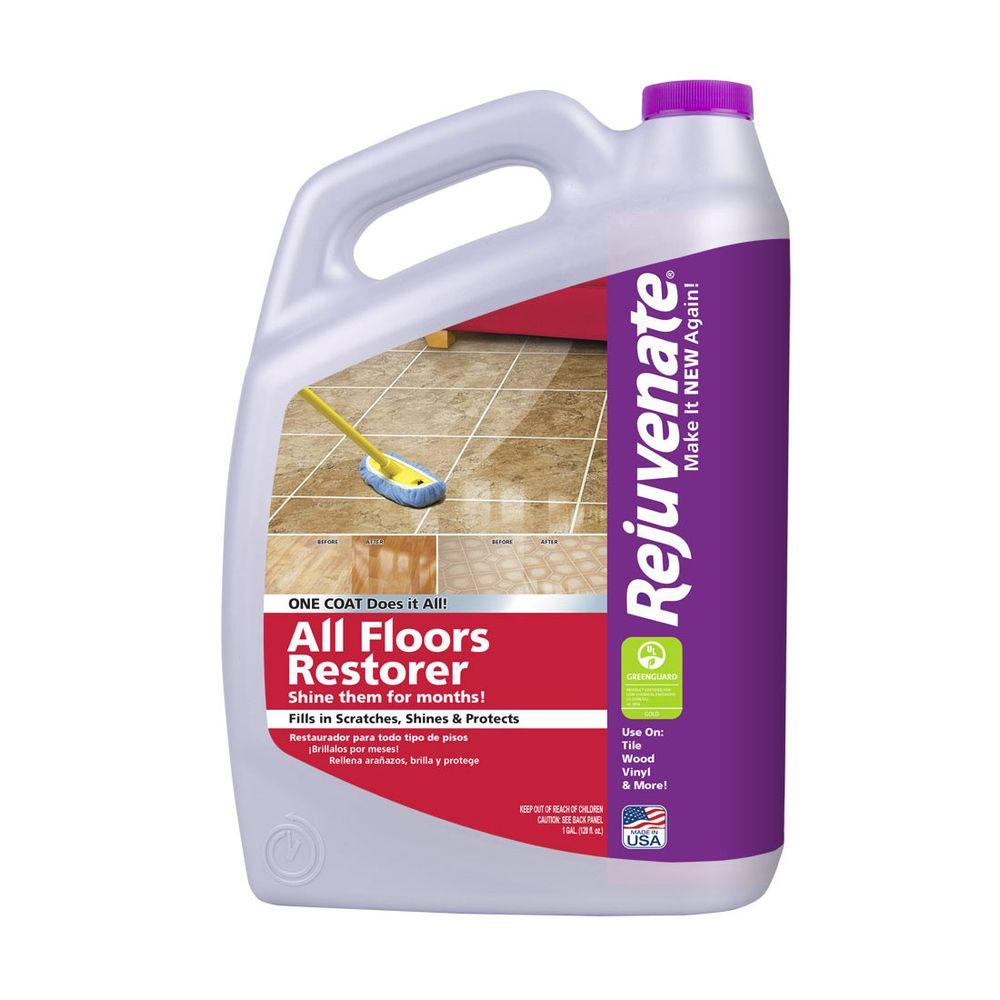 Rejuvenate 128 Oz All Floors Restorer And Protectant Rj128f Floor Cleaner Clean Laminate Best Laminate Floor Cleaner