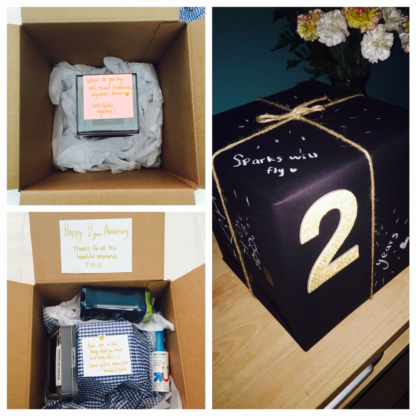 2 year diy anniversary gift for him go pro style he
