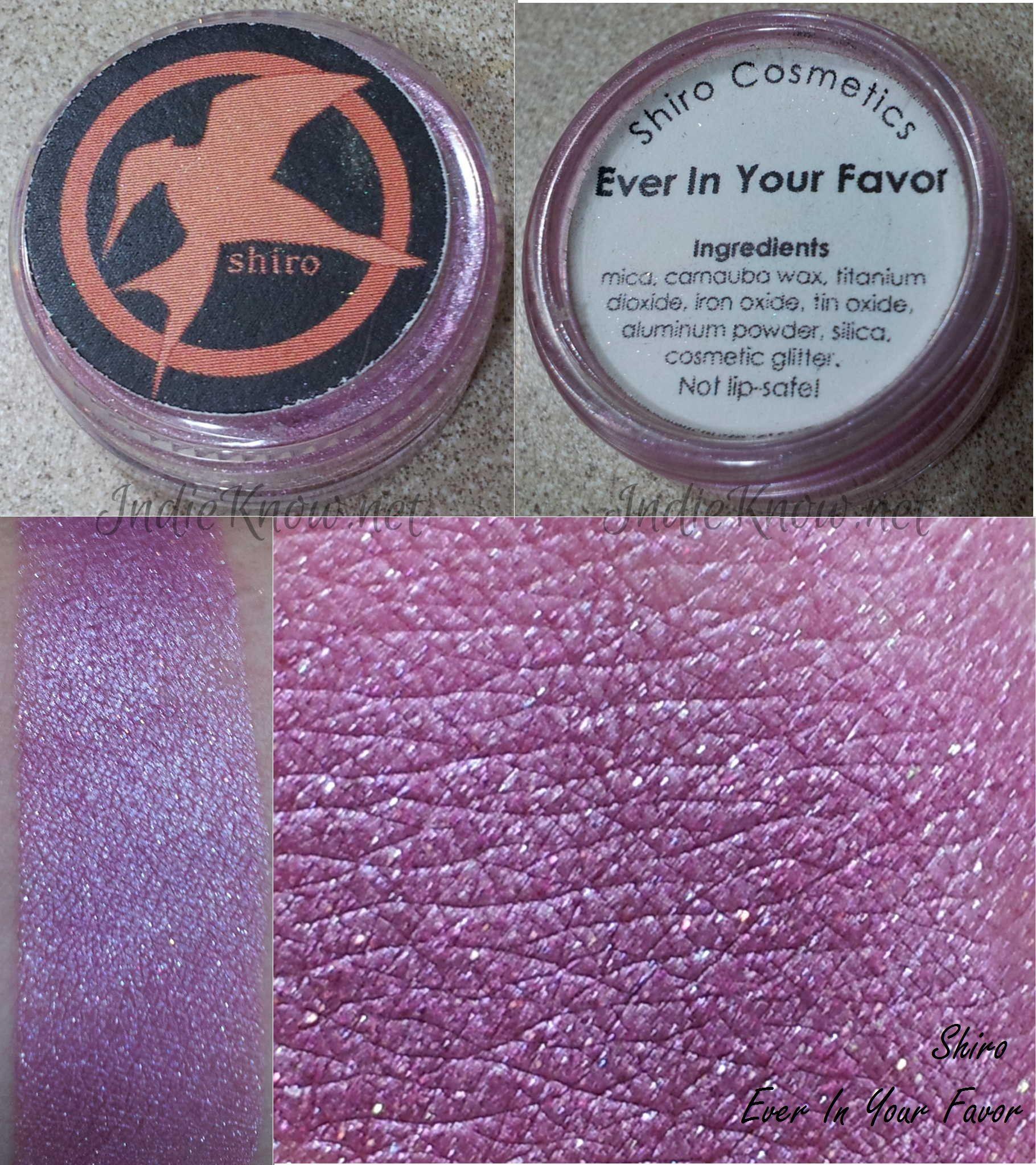 Shiro Eyeshadows Cosmetic glitter, Carnauba wax, Eyeshadow