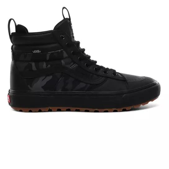 all black vans boots