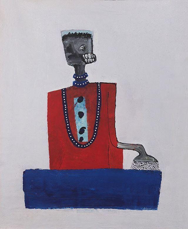 Amadou Sanogo | Ses derniers travaux expriment la quête de l'identité de l'individu au sein de la société africaine.