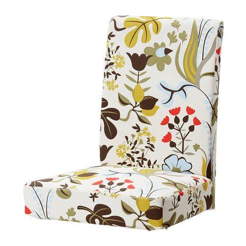 Henriksdal Chair Cover Blomsterm 229 La Multicolour Ikea