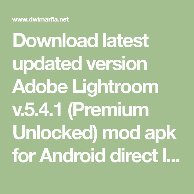 Lightroom 6.1 update