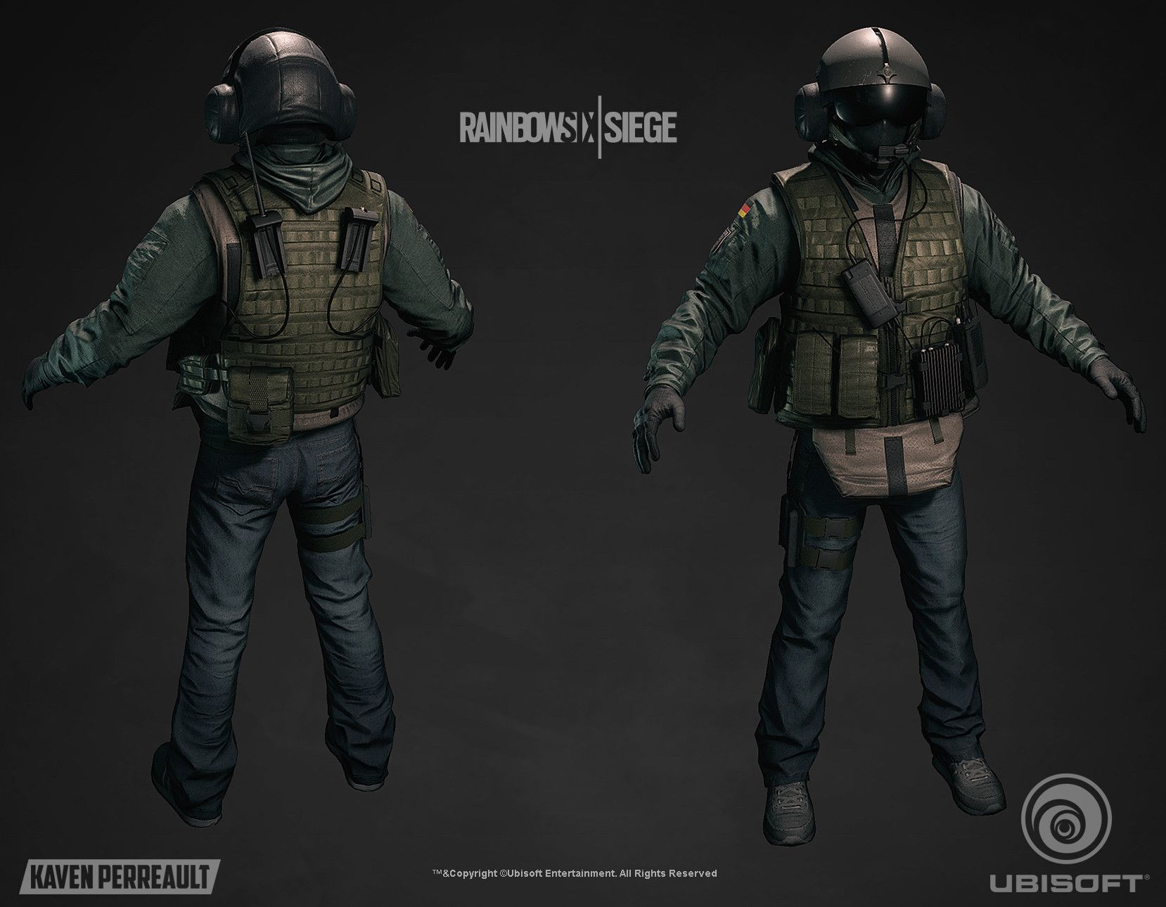 Rainbow Six:Siege jager elite Combat uniform Outfit cosplay no shoes and helmet