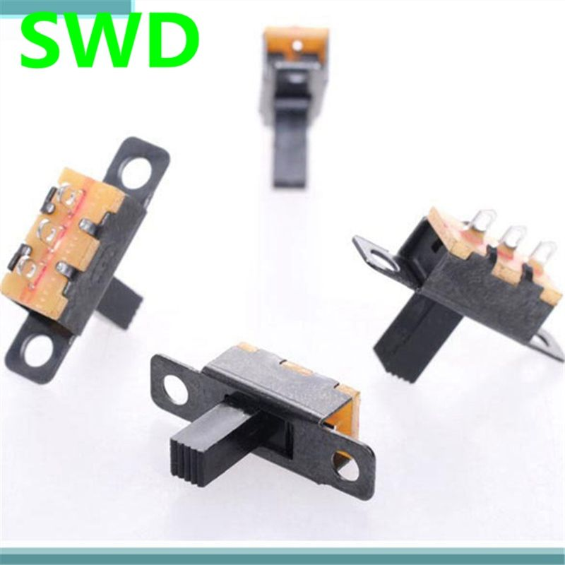 20pcs//lot SS12F15G5 3 Pin 2 Position Mini Size SPDT Slide Switches On-Off##