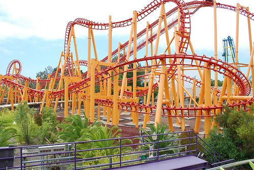 Six Flags Discovery Kingdom Kong Scary Roller Coasters Thrill Ride Amusement Park Rides