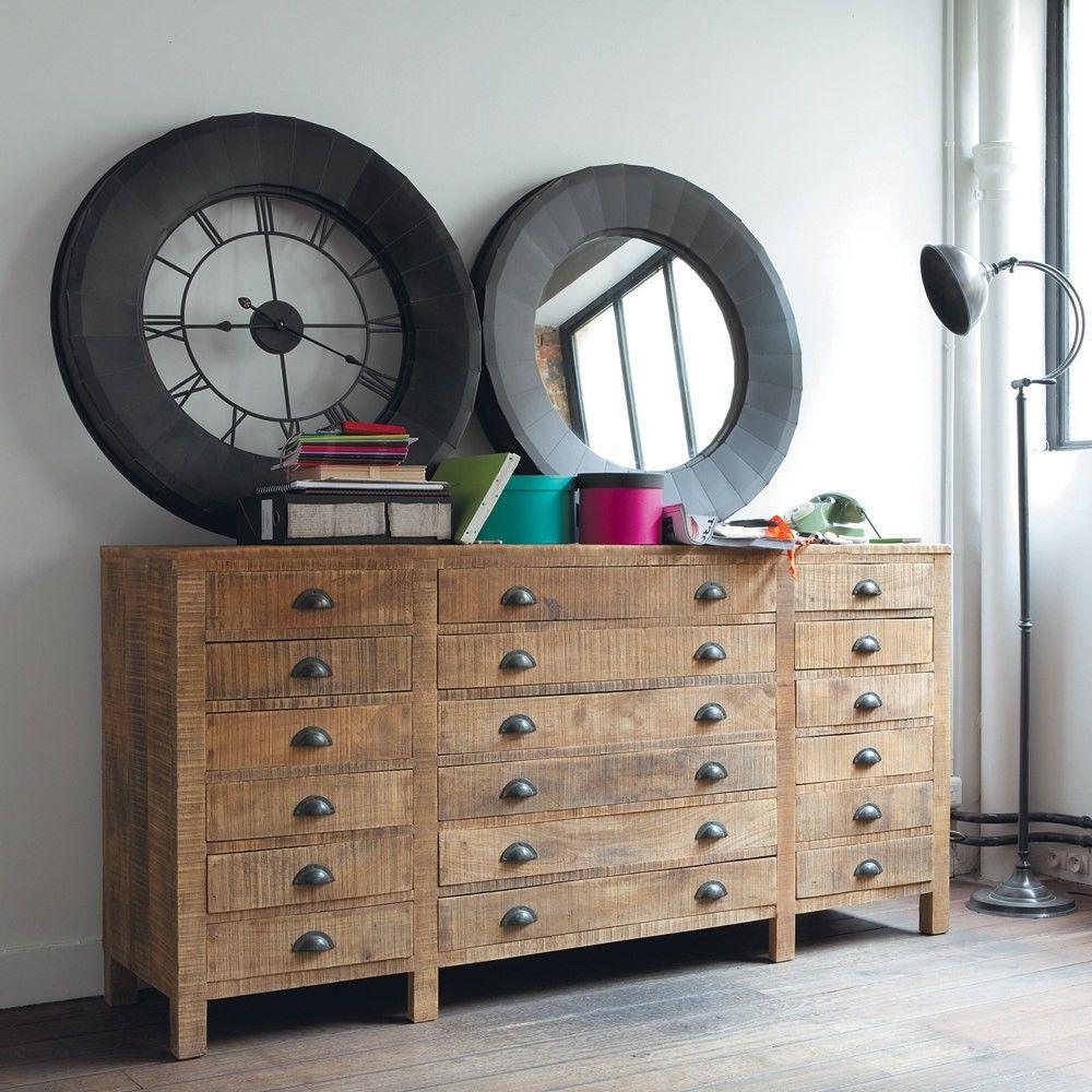 Comptoir Factory Home Decor Raw Wood Furniture Decor