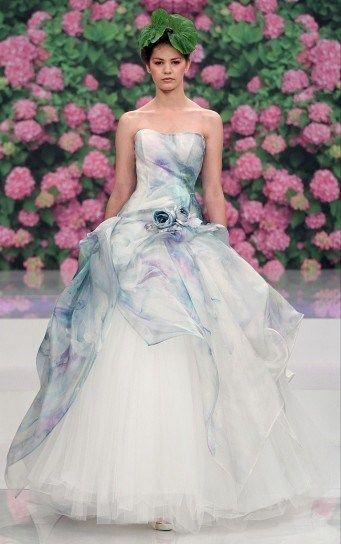 243280028da2 abito da sposa colorato con rosa