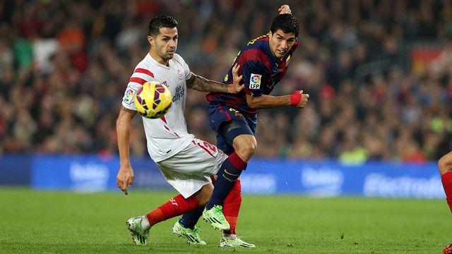 Barça won 5-1 at Camp Nou earlier in the season against SeVILLA FC / MIGUEL RUIZ-FCB