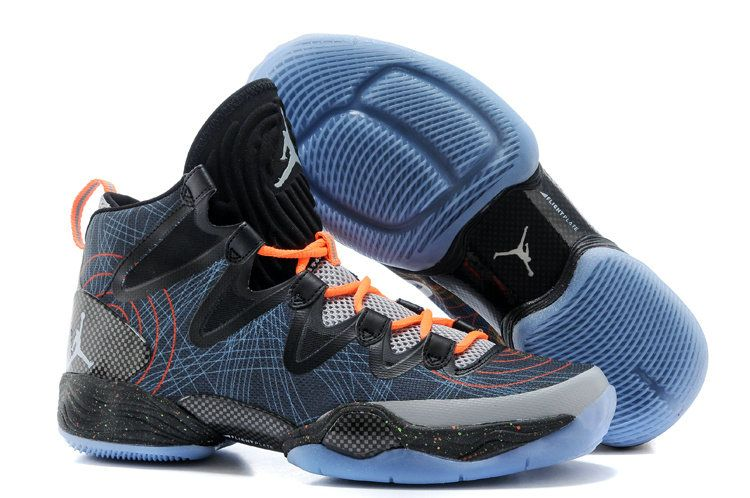 new style 68efd 23afe Jordan XX8 SE Christmas Black White Reflect Silver Total Orange 616345 025