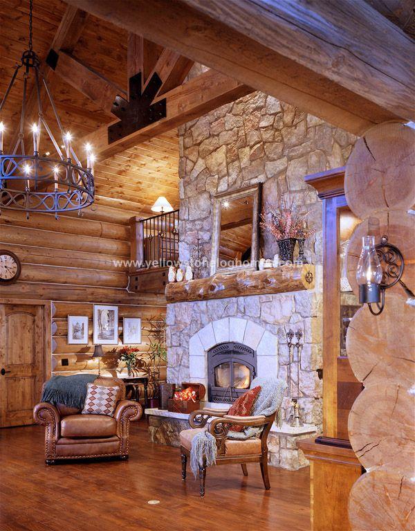 Interiors Log Homes Log Home Interior House Decor Rustic