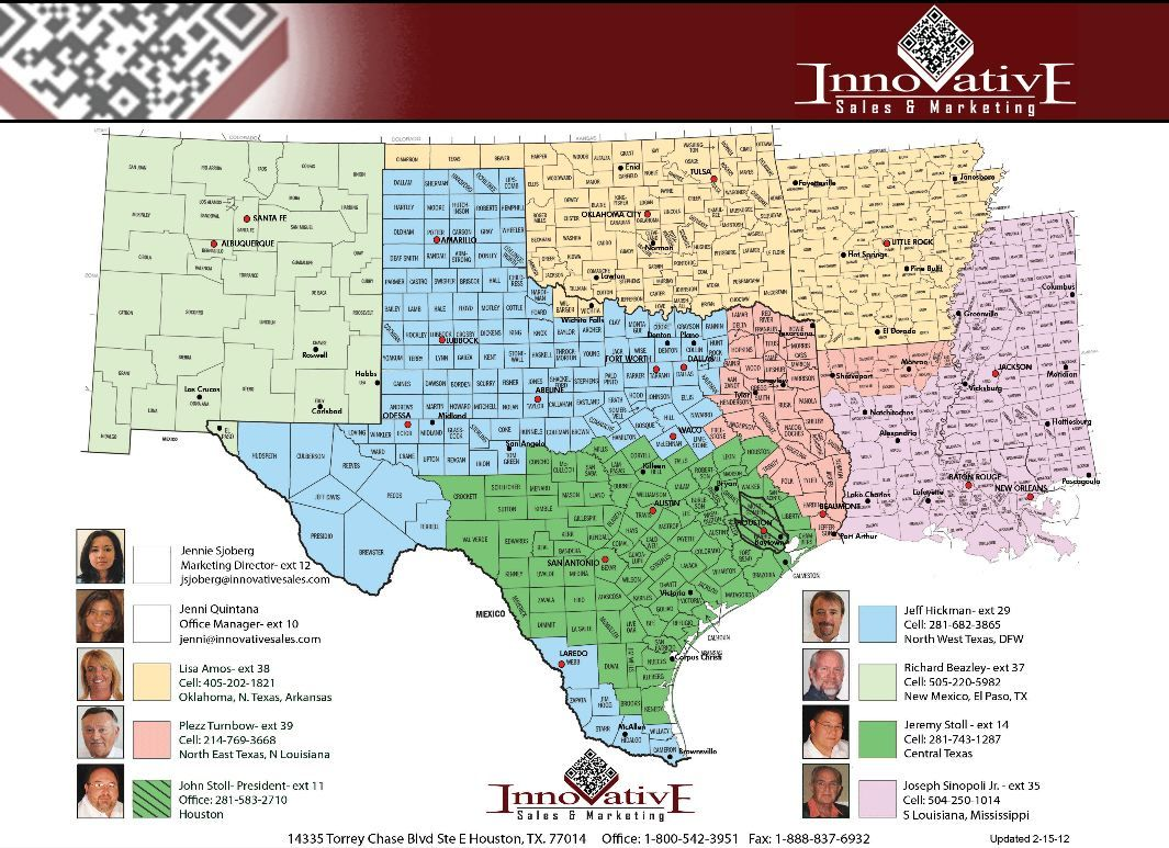 Innovative Sales Territory Map | Company Profile | Map ... on sales territories map, service map, vendor map, city map, zip code map, sales influence map, sales forms,
