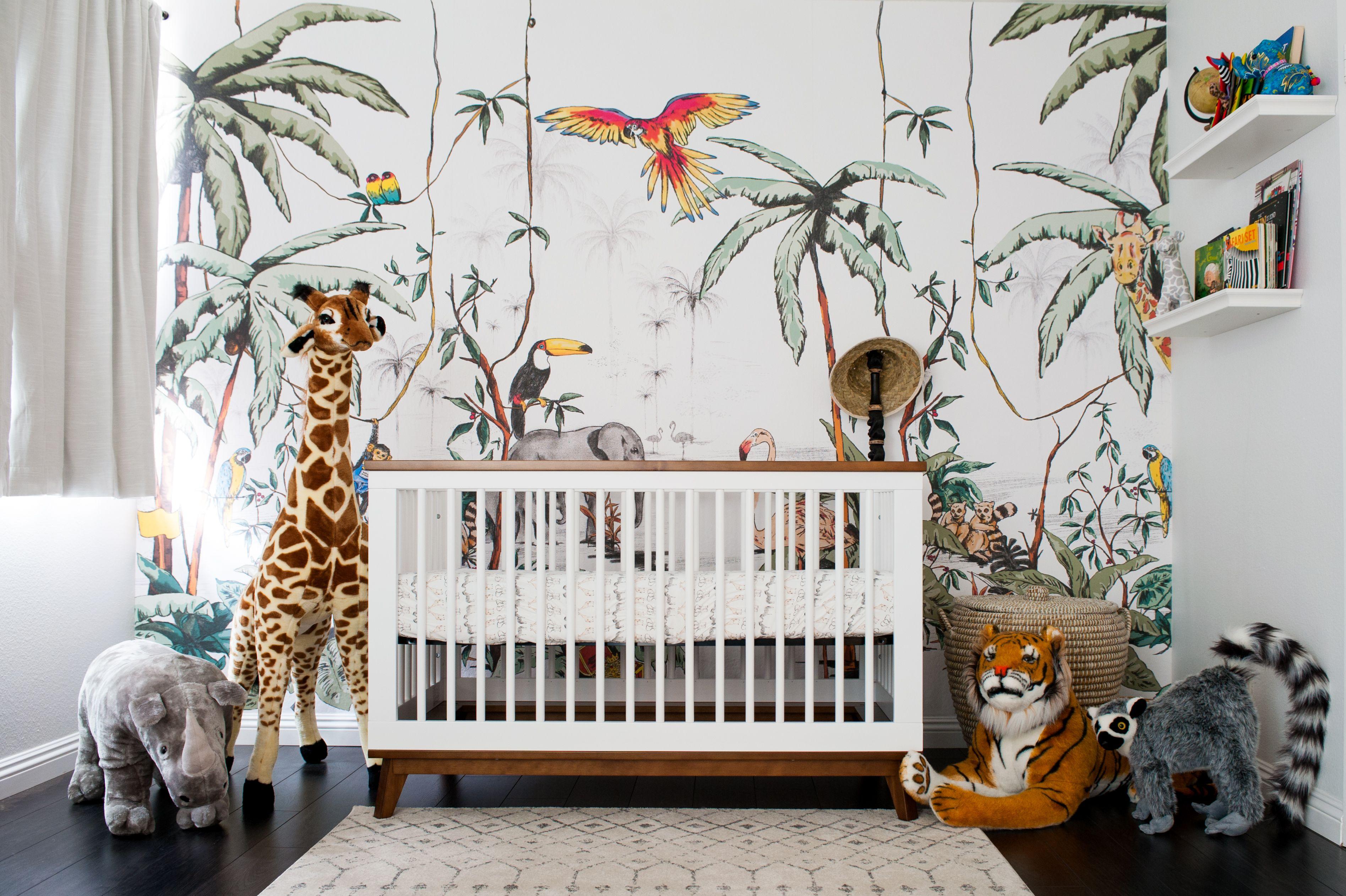 A Colorful Jungle Safari Nursery In