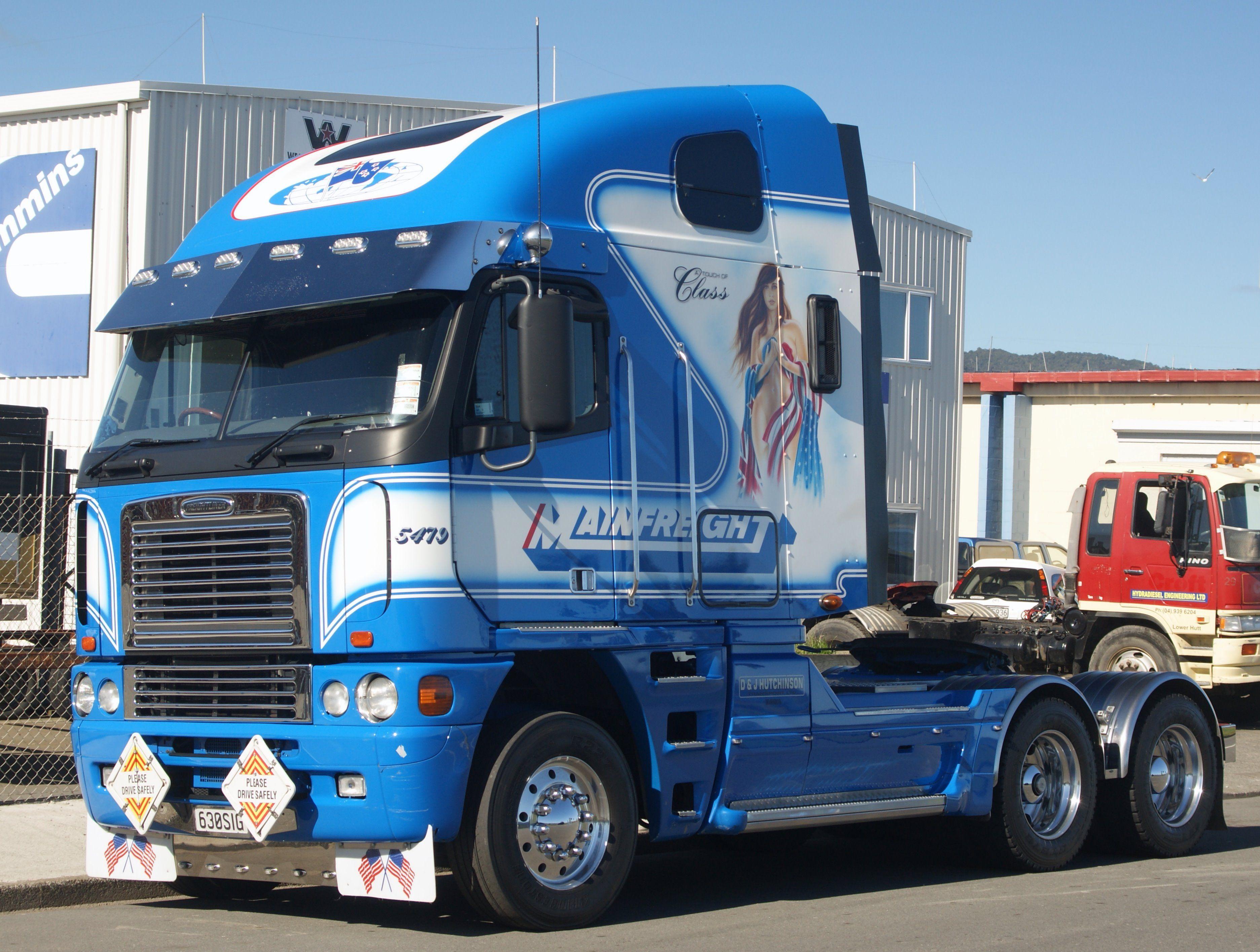 Freightliner Argosy Freightliner Trucks Freightliner New Trucks
